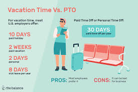 vacation time or pto