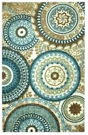 teal and yellow rug grey green turquoise