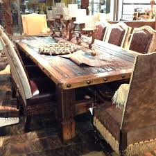 Idea Rough Wood Dining Table For Rustic Wood Dining Room ...