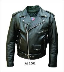 details about mens classic black belted leather motorcycle biker jacket