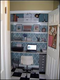 office in a closet. 061 Office In A Closet