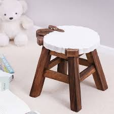 childs wooden sheep stool