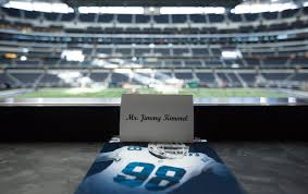 Texas Tech Jones Stadium Seating Chart Cowboys Owner Jerry Jones Wows Those Gathered At The Fifty