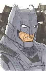 Today, we have that answer. Tom Hodges Batman Batman V Superman Signed Original 5 5 X 8 5 Color Drawing On Paper 1 1