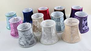 luxury flannel purple red blue white trendy lamp shades styles candle for chandelier shades clip