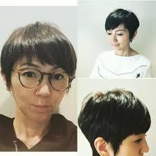 渡辺満里奈さんがヘアカット後にヘアカタログの撮影を いつも自然体