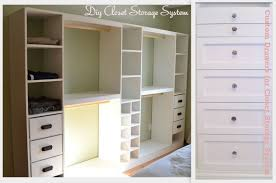 Closet Organizers Do It Yourself Superb On Bedroom Inside Diy Custom
