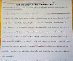 integrating evidence and elaboration we chose a piece that had areas where we saw repeated errors in students essays students edited in their groups and we discussed the changes as a class