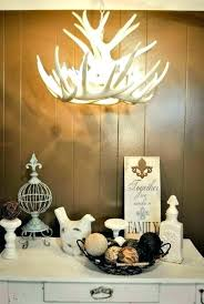chandeliers white antler chandelier faux chandel by deer lamp kirklands