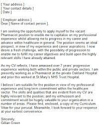 speculative cover letter sample pharmacist com speculative cover letter sample 17 pharmacist