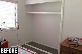 diy built in wardrobe