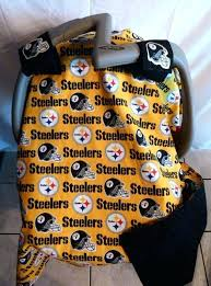 pittsburgh steeler seat covers infant baby canopy by pittsburgh steelers bench seat covers
