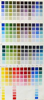 Albany Paint Colour Chart Infinite Color Joy Charting My Palette Jana Bouc Artist