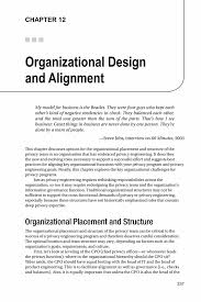 organizational design and alignment springer the privacy engineer s manifesto the privacy engineer s manifesto