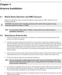 99ft3046 cm200 vhf 45 watt mobile radio user manual 2966c25 o cvr page 16 of 99ft3046 cm200 vhf 45 watt mobile radio user manual 2966c25 o cvr