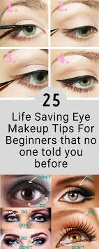 top 25 eye makeup tips for beginners that no one told you before