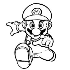 Super Mario Bros Kleurplaten Leuk Voor Kids
