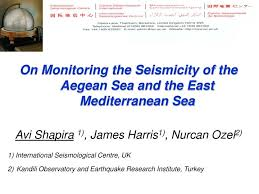PPT - On Monitoring the Seismicity of the Aegean Sea and the East  Mediterranean Sea PowerPoint Presentation - ID:5320712