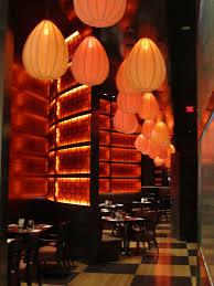 asian lighting. Aesthetic Asian Restaurant Interior Design With Warm Circumstance : Las Vegas Lighting