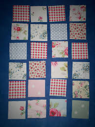 MEADOWS and MEWS: HOW TO MAKE A PATCHWORK QUILT OR PLAYMAT for a ... & ... finished quilt to look. I find that this is best, because you can  arrange the squares to spread out any strong colours so that they are well  spaced out, ... Adamdwight.com