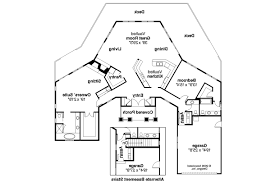 Hexagonal  Round House PlanHexagon House Plans