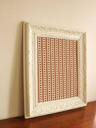 shutter cabinet cover a electric box my house bulletin board white frame and design stripe fabric