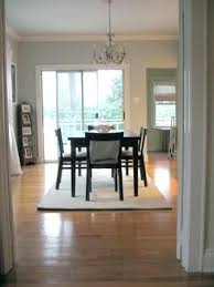 dining room no rug with dining room table rug kos