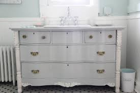 monday makeover 7 tips for turning a dresser into bathroom vanity regarding dresser bathroom vanity designs 19