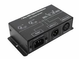 1 4 8 channels optional dmx signal distributor used for amplifying dmx512 digital