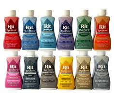 Rit Color Chart Rit Dye More Synthetic Dye You Choose Colour