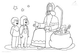 1001 Kleurplaten Sinterklaas Sint Sinterklaas Kleurplaat