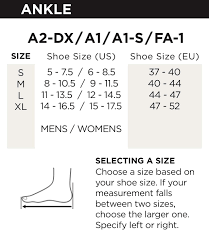 Zamst A2 Dx Size Chart Zamst Ankle Brace Support Stabilizer A2 Dx Mens Womens Sports Brace For Basketball Soccer Volleyball Football Baseball