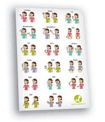 Sign Language Chart Printable Baby Sign Language Chart