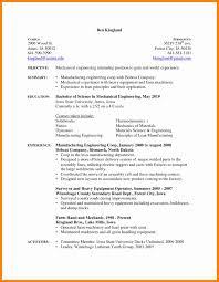 Diesel Mechanic Resume Auto Mechanic Resume Templates Automotive