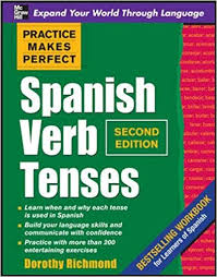 Spanish Tenses Chart Pdf Amazon Com Practice Makes Perfect Spanish Verb Tenses