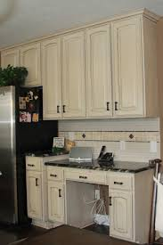 Antique Cabinets For Kitchen Traditional And Vintage Impression In Antique White Kitchen