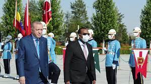 خلال استقباله أبي أحمد.. أردوغان: تركيا مستعدة للتوسط لإحلال السلام في  إثيوبيا