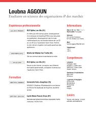 Example Of Formal Resume