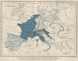 memoirs of napoleon bonaparte complete by louis antoine fauvelet coloured map of europe to illustrate the dominion of napoleon