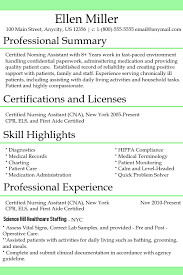 Cna Charting Cna Resume Template Postermywall