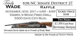 Trudy Wade Fundraiser and Raffle - Greater Greensboro Republican Women's  Club
