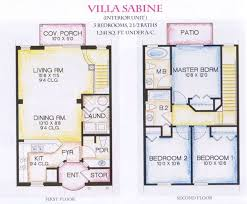 house plans displaying luxury gorgeous modern story villa floor
