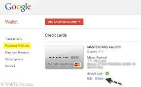 Google play (formerly known as android market) is an online store for all your favourite android apps, games, music, movies, books, and magazines. How To Remove Delete Your Credit Card From Google Play