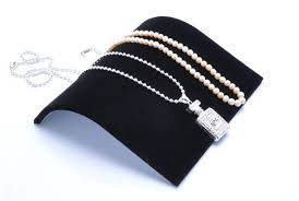 Black Velvet Jewelry Display Stands High Quality Free Shipping100100100cm Black Velvet Necklace 85