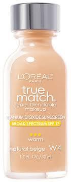 true match super blendable makeup matches skintone and texture