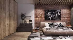 exposed brick bedroom design ideas. Inspiring Industrial Interiors That Features Exposed Brick Walls Bedroom Design Ideas A