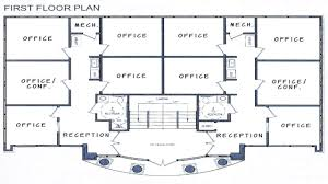 house plans with office. Building Floor Plans Modern House With Office N