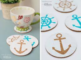 nautical diy coasters