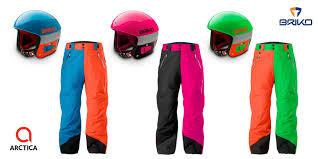 A Winning Combination Arctica 50 50 Pants And Briko Helmets