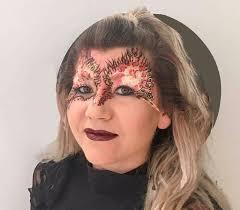 masquerade mask by ftmakeup london